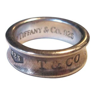 Tiffany & Co. Sterling Band Ring