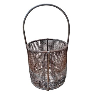 Early 20th Century American Industrial Wire Basket Preview