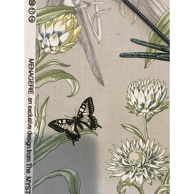 Blendworth Menagerie Enchanted Forest Cotton Fabric 6 Plus Continuous Yards For Sale - Image 4 of 10