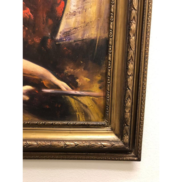 French Style Oil Painting For Sale In Sacramento - Image 6 of 11