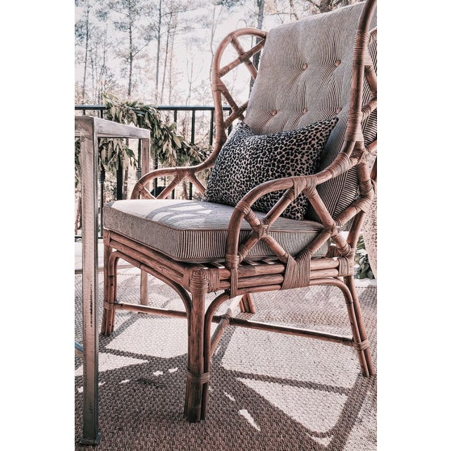 Contemporary Gabby Watson Chairs With Custom Schumacher Cushions - A Pair For Sale - Image 3 of 5