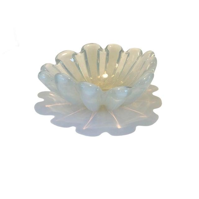 Opaline Murano Bowl For Sale In Dallas - Image 6 of 6