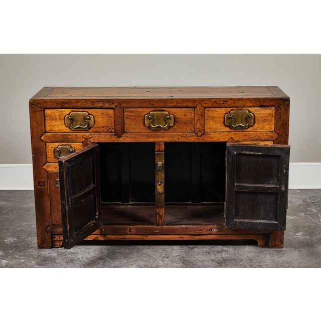 19th C. Chinese Poplar Sideboard For Sale In Los Angeles - Image 6 of 10