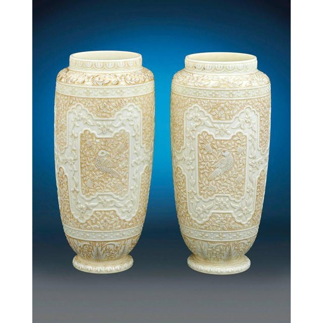 Glass Cameo Glass Vases by Webb For Sale - Image 7 of 8