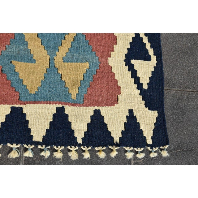 Turkish Anatolian Wool Rug - 2′3″ × 3′7″ For Sale In San Francisco - Image 6 of 9