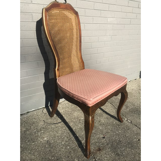 Animal Skin 1980s Chinoiserie Drexel Writing Desk With Matching Chair -2 Pieces For Sale - Image 7 of 12