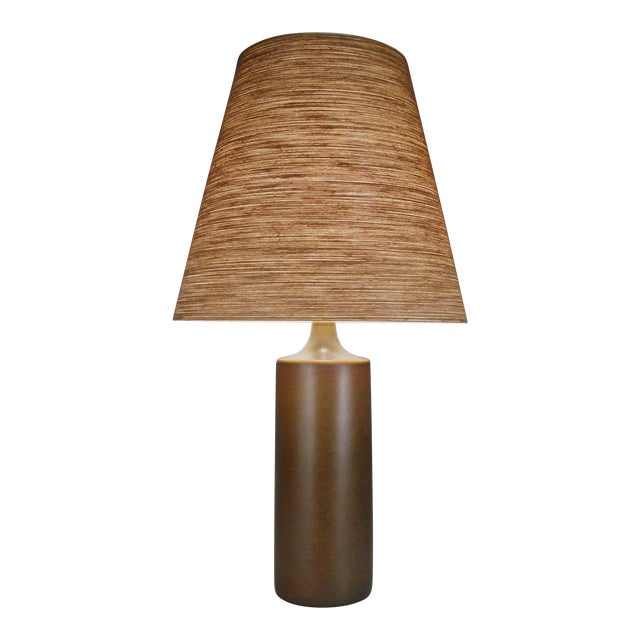 Large 1960's Danish Ceramic Lamp by Bostlund For Sale