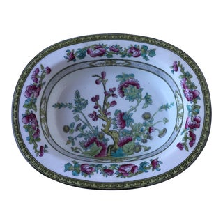Vintage Porcelain Chinoiserie Style Bowl