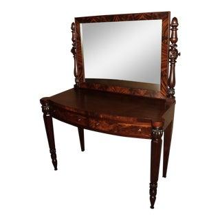 Antique Mahogany Vanity Dressing Table