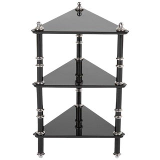 Transitional Side Table / Etagere by Warren McArthur For Sale