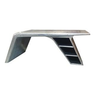 Restoration Hardware Aviator Wing Desk For Sale