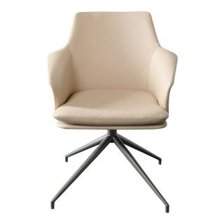 VIP Saloti Karl Taupe Dining Chair For Sale