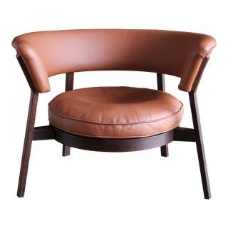 Rare Eugenio Gerli P28 Lounge Chair for Tecno, Circa 1958 For Sale