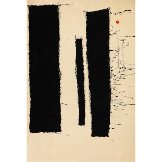 Textile 1970s Vintage Preben Hornung Rug - 4′7″ × 6′8″ For Sale - Image 7 of 7
