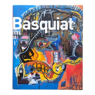 Jean Michel Basquiat Estate First Edition Brooklyn Museum Exhibition Hardcover Art Book For Sale