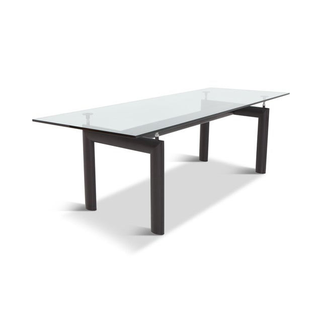 1920s Le Corbursier Lc6 Dining Table for Cassina For Sale - Image 5 of 13