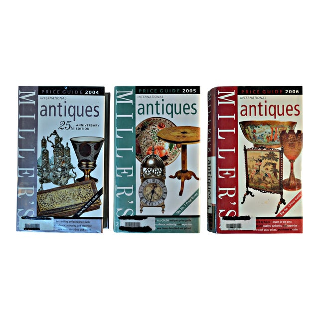 Miller Antique Price Guides - Set of 3 For Sale