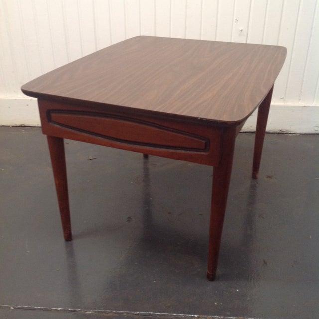 Kroehler Kroehler Mid-Century Side Table For Sale - Image 4 of 5