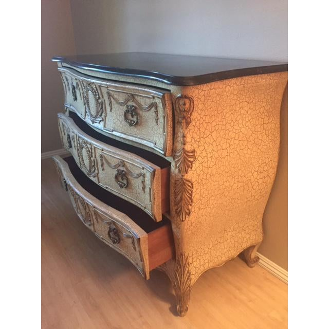 French Provincial Style Chest With Marble Top - Image 3 of 7