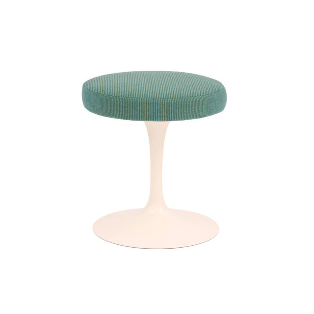 Blue 1960s Saarinen Knoll Swivel Stool For Sale - Image 8 of 8