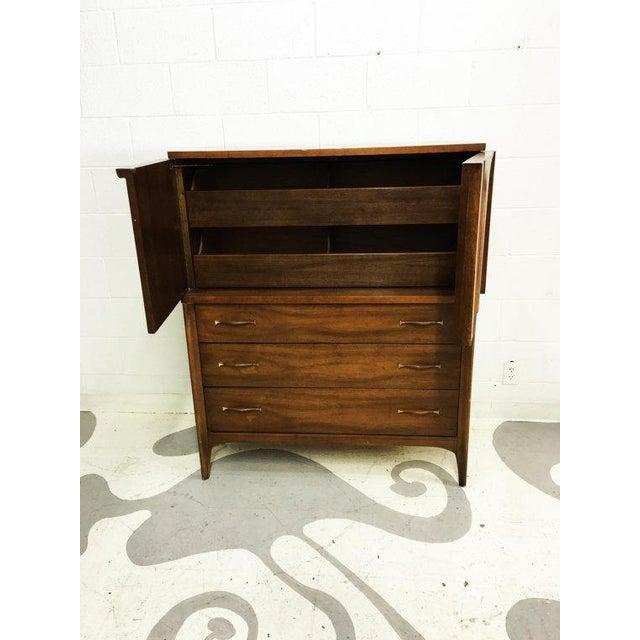 Mid-Century Modern Tallboy Dresser - Image 6 of 6