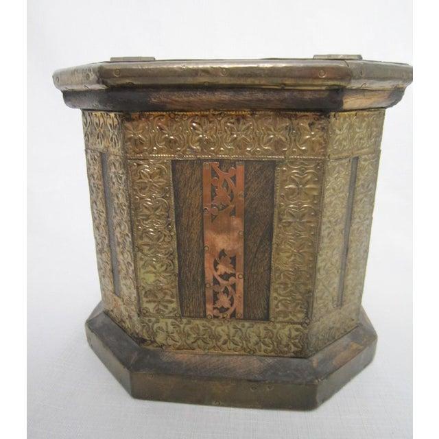 Vintage Boho Indian Wood Box - Image 6 of 7