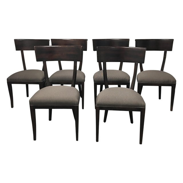 Baker Furniture Transitional Dining Chairs - S/6 - Image 1 of 6
