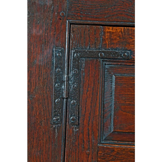 18th Century English Oak Bacon Settle For Sale - Image 11 of 11