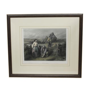 "19th Century ""Going Home"" Print"