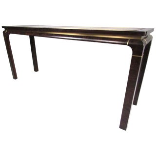 Mid-Century Console Table by John Stuart Inc For Sale