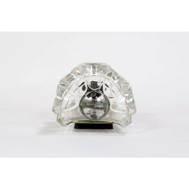 Glashütte Limburg Limburg Half Cylinder Concave Oval Sconce For Sale - Image 4 of 10