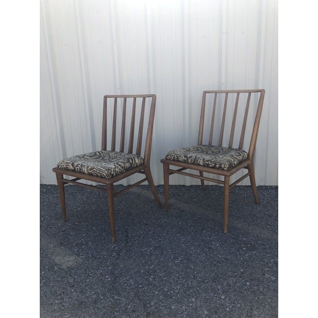 Mid Century Modern Brown Saltman Dining Chairs - a Pair For Sale - Image 12 of 12