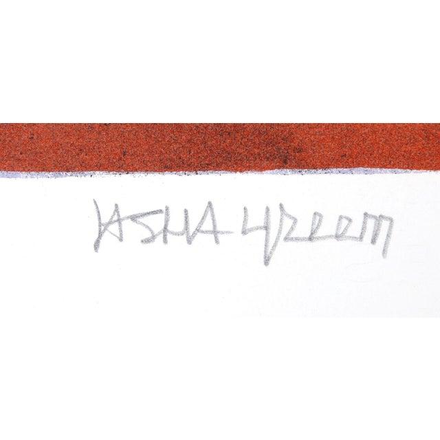 "Jasha Green ""Untitled 29"" Lithograph - Image 2 of 2"