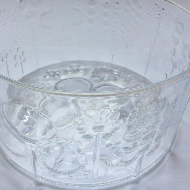 Vintage Iittala Oiva Toikka Flora Bowl For Sale - Image 5 of 6