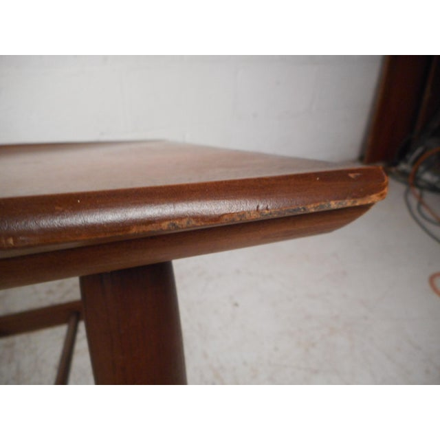 Surfboard Side Tables by Bassett Furniture Co., a Pair For Sale - Image 9 of 13