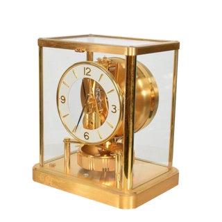 Atmos Jaeger Le Coultre Mantle Perpetual Motion Clock