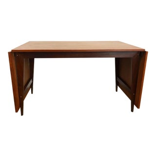 Danish Teak Drop Leaf Dining Table Designed by Poul Cadovious For Sale