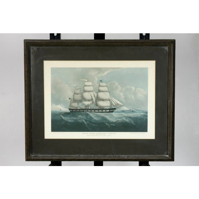 United States Packet Ship Nautical Prints - A Pair - Image 4 of 11