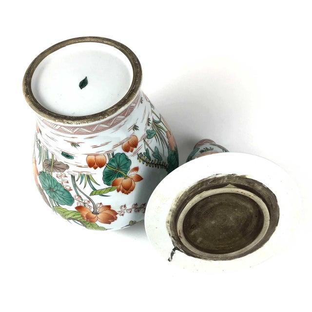 Antique Large Chinese Porcelain Vase For Sale - Image 11 of 13