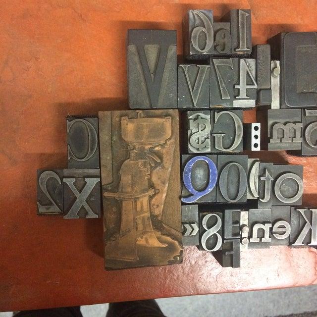 Print Letter Blocks - Set of 49 - Image 5 of 8