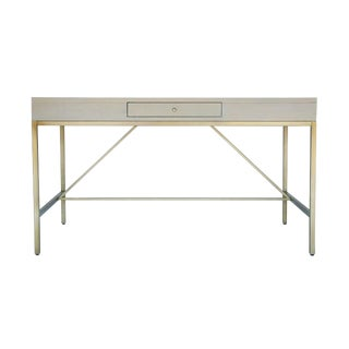 Carlyle Desk in Grey For Sale