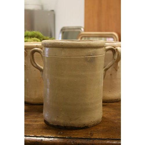 Italian 19th Century Italian Glazed Terracotta Olive Jar For Sale - Image 3 of 5
