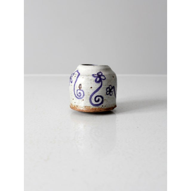 Mid 20th Century Vintage Asian Vase For Sale - Image 5 of 10