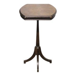 Antique Chippendale Walnut Pedestal Table For Sale