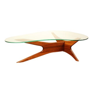 Adrian Pearsall for Craft Associates 1465-T Boomerang Coffee Table For Sale