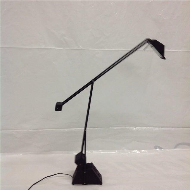 Black Modernist Kinetic Balance Lamp - Image 5 of 7