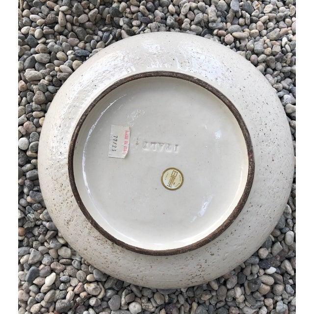Vintage Mid-Century Modern Italian Ceramic Ashtray by Aldo Londi-Bitossi For Sale - Image 11 of 13