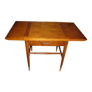 Lane Copenhagen Walnut Drop Leaf Table