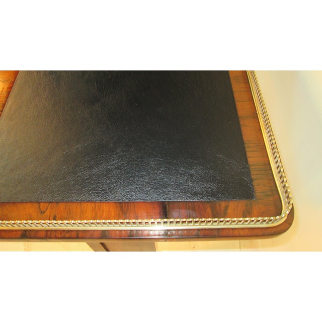 Joseph Gerte Rosewood Desk For Sale - Image 9 of 12