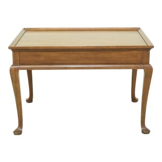 Baker Collectors Edition Walnut Coffee or Tea Table For Sale